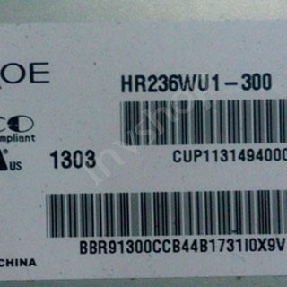 Прошивка матрицы HR236WU1-300