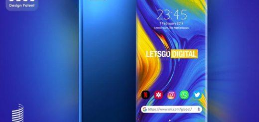 Xiaomi запатентовала полностью безрамочный смартфон без единого выреза